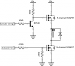 Double MOSFET switch